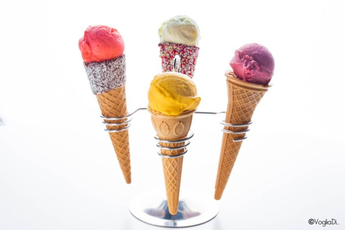 gelato food photography